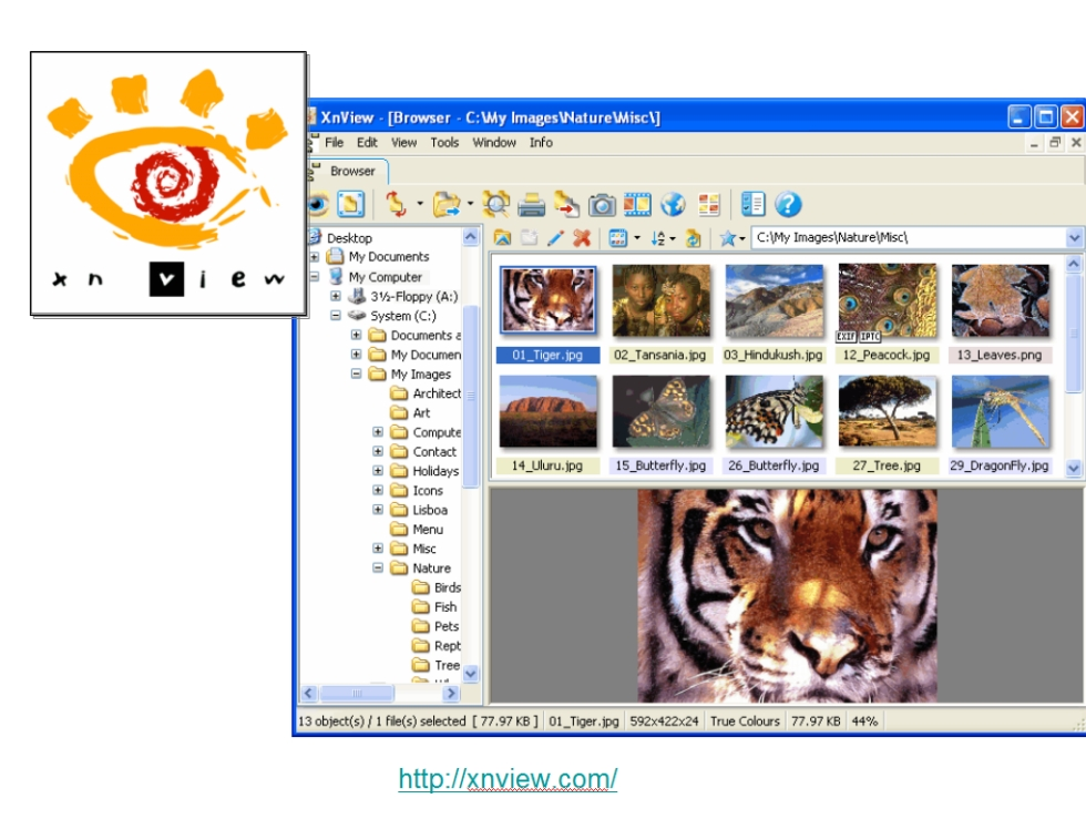 Digital Cameras Free Software And Services 10 Xnview Full Featured Photo Manager Web Gallery Creator Jpg